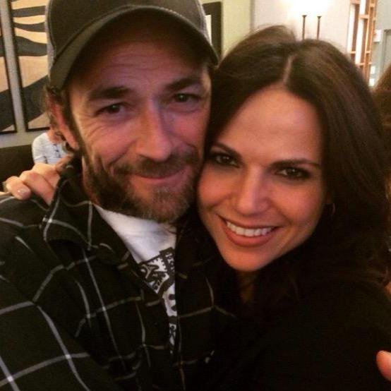 Atriz Lana Parrilla lamenta morte do ator Luke Perry 3