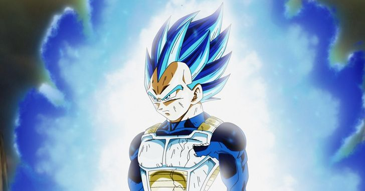 Dragon Ball Super Vegeta fim