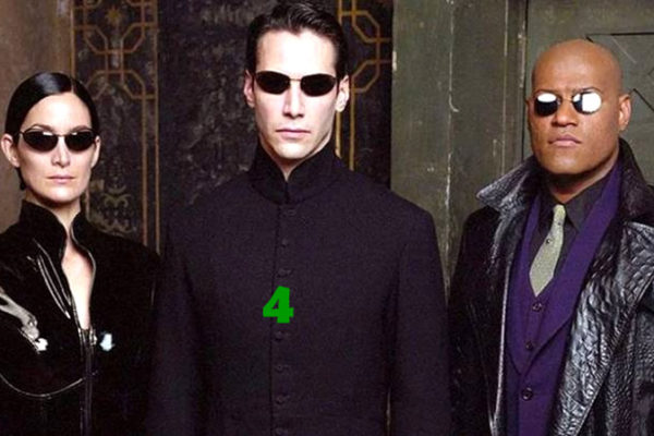 matrix 4 com keanu reeves e trinity