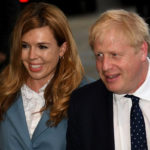 Carrie Symonds com coronavirus Ministro Boris Johnson